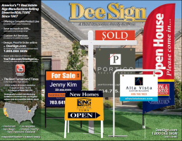 DeeSign Independent Real Estate Sign Catalog 2015