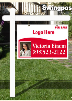 Swingpost Signs (post & panel)